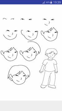 Anime Draw Step by Step screenshot 7