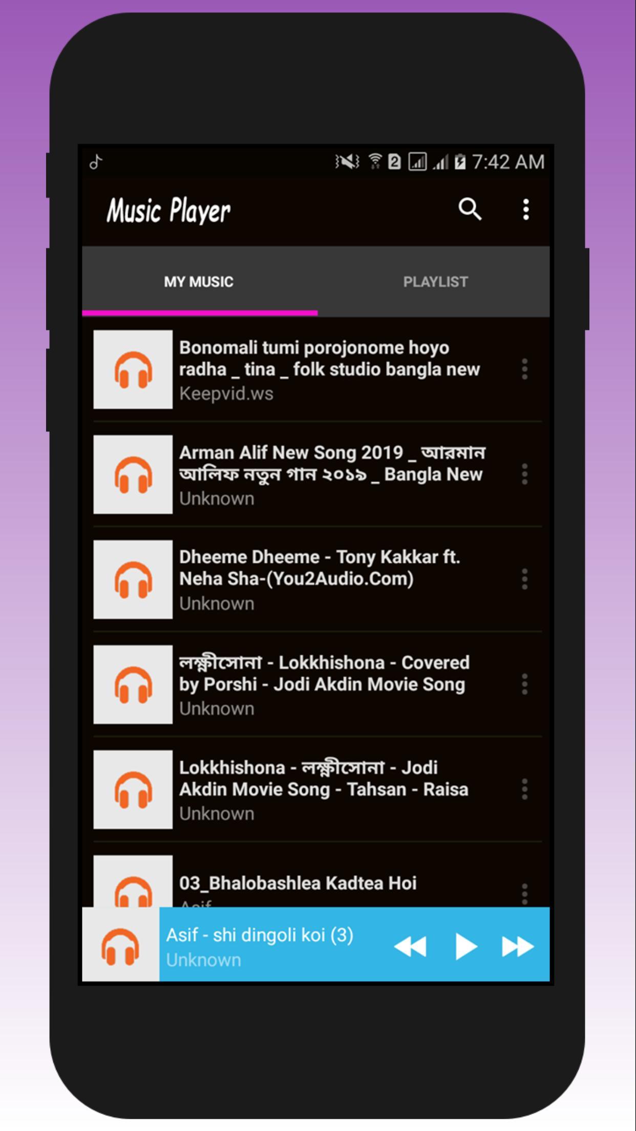 Music Player - Mp3 Player  screenshot 1
