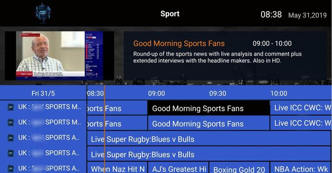 Pure Streams IPTV screenshot 11