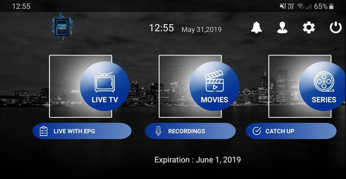 Pure Streams IPTV screenshot 2