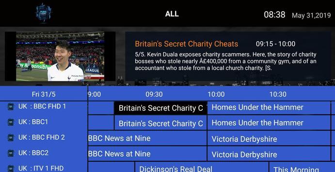 Pure Streams IPTV screenshot 5