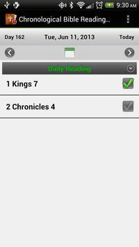 Chronological Bible Plan screenshot 1