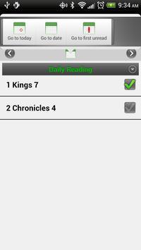 Chronological Bible Plan screenshot 2
