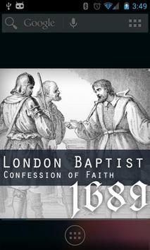 1689 London Baptist Confession poster