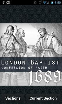 1689 London Baptist Confession screenshot 1