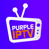 IPTV Smart Purple Player - No Ads icon