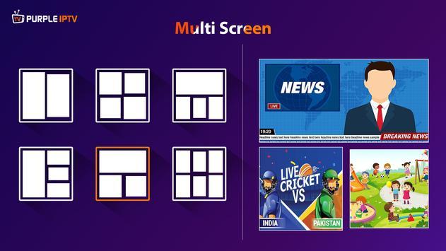 IPTV Smart Purple Player - No Ads syot layar 3