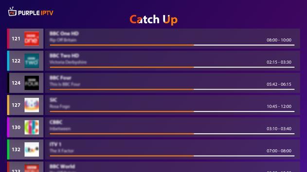 IPTV Smart Purple Player - No Ads syot layar 14