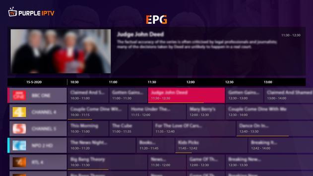 IPTV Smart Purple Player - No Ads syot layar 17