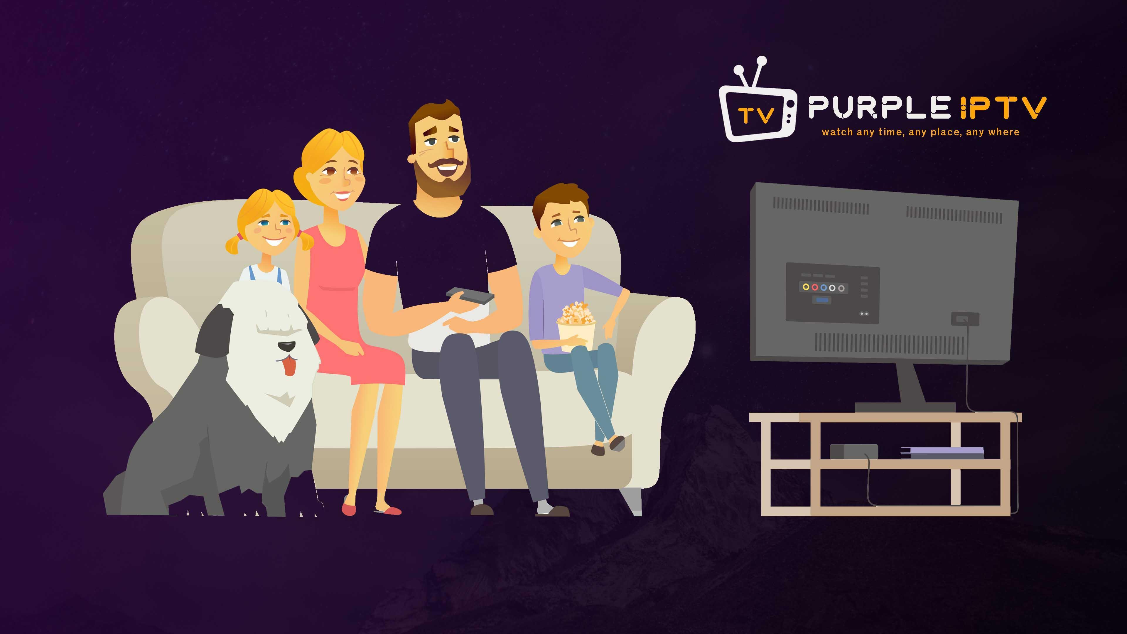 Purple Extreme Smart IPTV Player for Android - APK Download