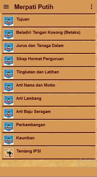 Merpati Putih تصوير الشاشة 10