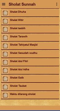 Belajar Sholat Sunnah Lengkap screenshot 2