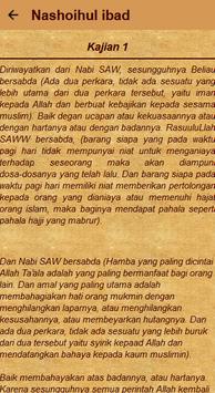 Kajian Nashoihul Ibad Terjemah screenshot 7