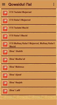 Qowaidul I'lal Terjemah screenshot 10