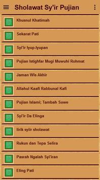 Sholawat Sy'ir Puji-Pujian screenshot 20