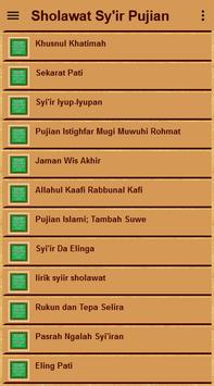 Sholawat Sy'ir Puji-Pujian screenshot 4