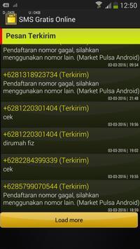 SMS Gratis Online poster