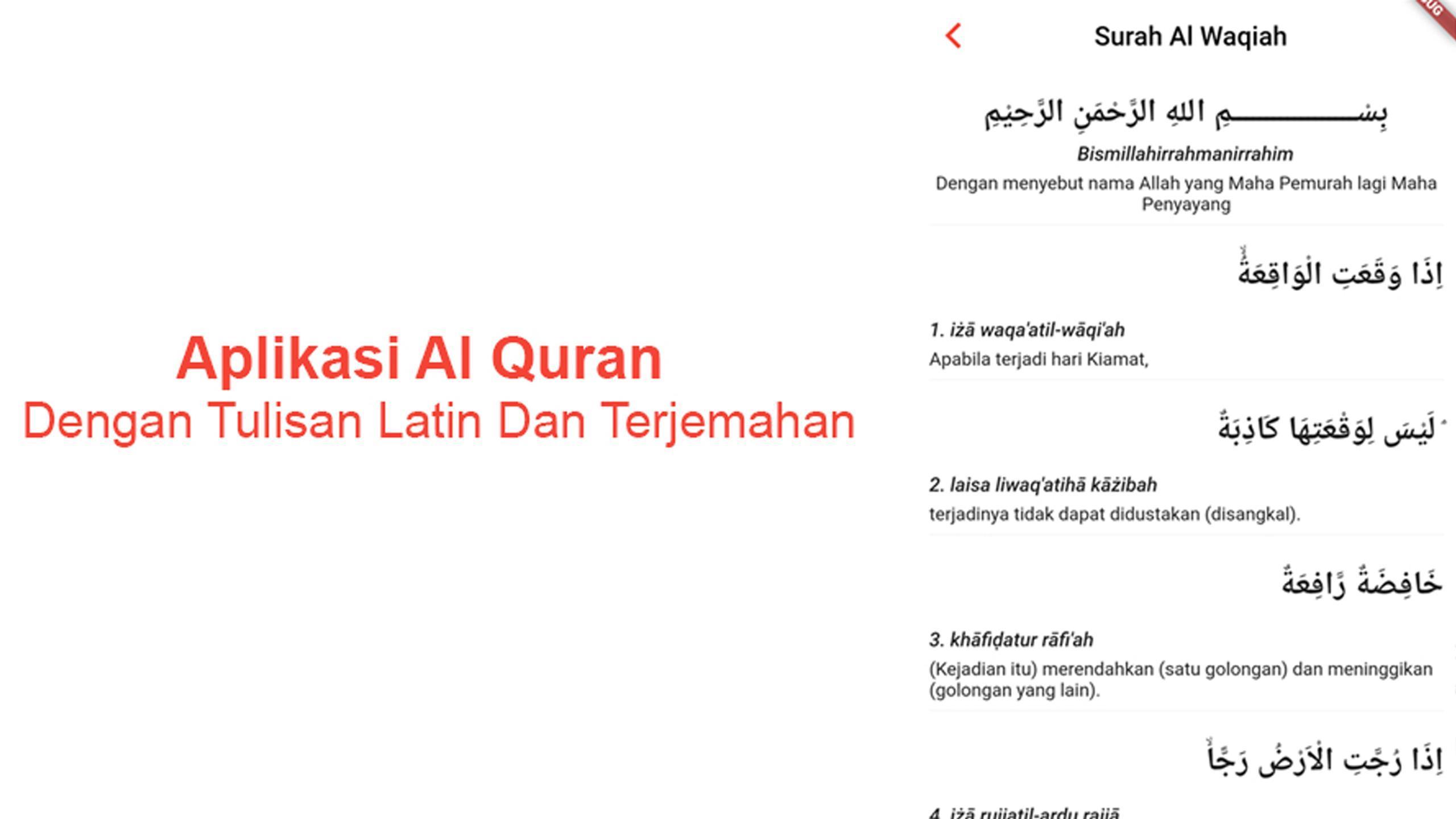 Al quran latin dan terjemahan for android apk download.