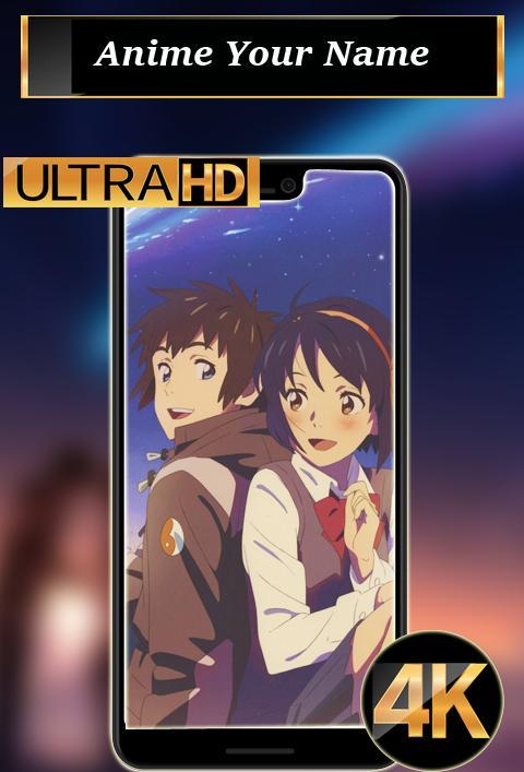 Anime Your Name Wallpaper Hd 4k Für Android Apk Herunterladen