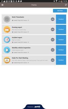 Putti Forms screenshot 5