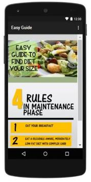 Easy guide for a Perfect Diet screenshot 1