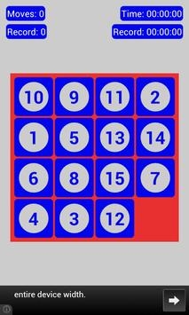 15 Puzzle screenshot 3