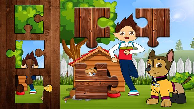 Paw and Puppy Jigsaw Puzzle - 2019 screenshot 3