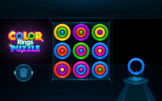 Color Rings Puzzle screenshot 10