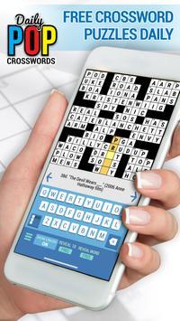 Daily POP Crosswords: Daily Puzzle Crossword Quiz poster