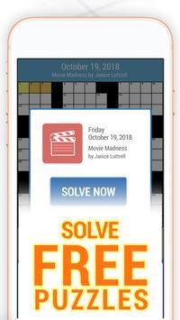 Daily POP Crosswords: Daily Puzzle Crossword Quiz screenshot 3