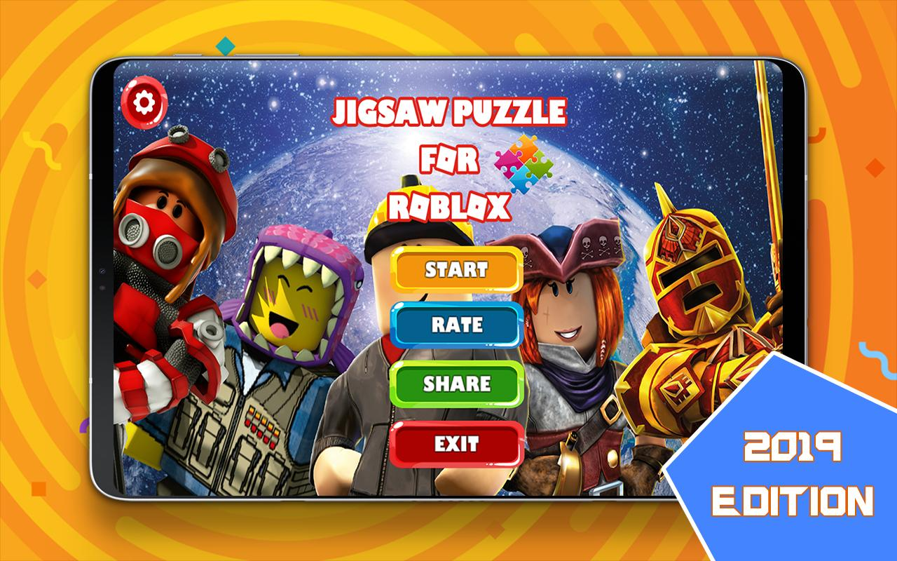 Jigsaw Puzzle For Roblox Fans For Android Apk Download