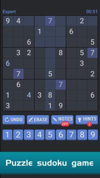 Sudoku Free Puzzle poster
