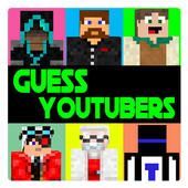 Guess youtubers: quiz for minecraft icon