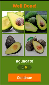 4 Pics 1 Word Fruits Spanish screenshot 1