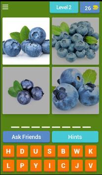 4 Pics 1 Word Fruits Spanish screenshot 2