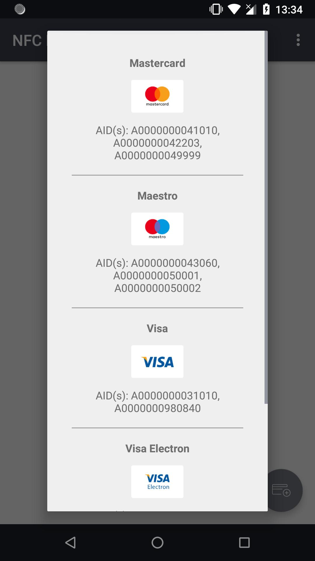NFC EMV Card Reader for Android - APK Download
