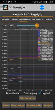WiFi Analyzer syot layar 10