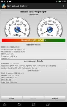 WiFi Analyzer स्क्रीनशॉट 8