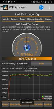 Analizador WiFi captura de pantalla 5