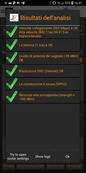 7 Schermata Analizzatore WiFi