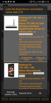 Analisador de WiFi imagem de tela 2