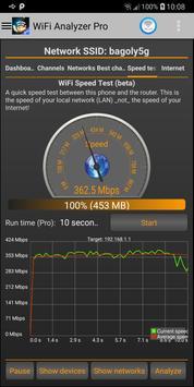 WiFi Analyzer Pro 截圖 4