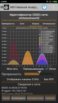 WiFi Analyzer Pro постер