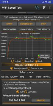 WiFi Speed Test screenshot 1