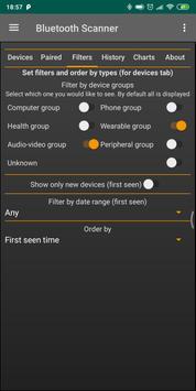 Bluetooth Scanner captura de pantalla 2