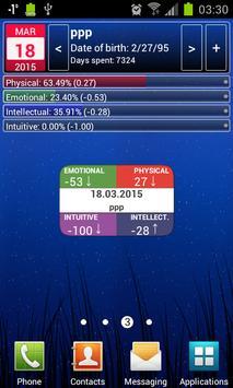 Personal Biorhythms Calculator screenshot 7