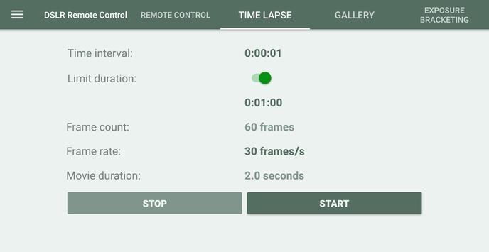 DSLR Control - Camera Remote Controller screenshot 11