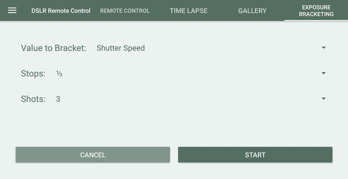 DSLR Control - Camera Remote Controller screenshot 2