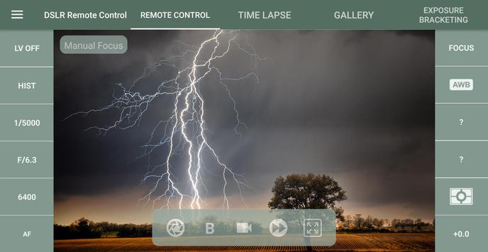 DSLR Control - Camera Remote Controller screenshot 5