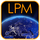 Light Pollution Map-icoon